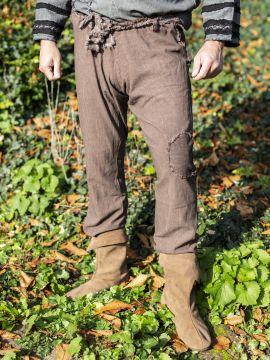 Pantalon Buri marron
