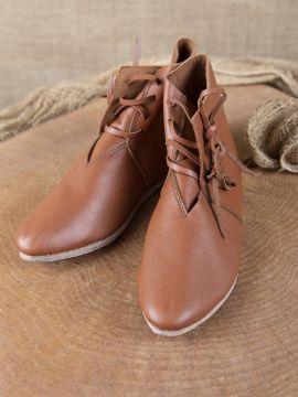 Chaussures médiévales à lacets pour enfant