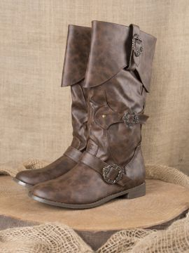 Bottes de pirates en marron 40