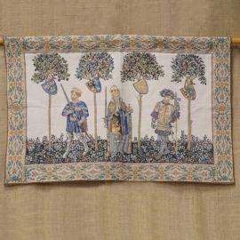 Tapisserie - Héros médiévaux