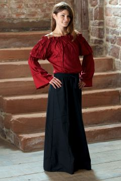Ensemble jupe et blouse rouge | S/M | S/M