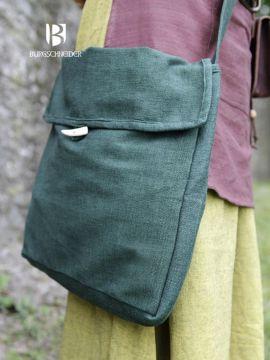 Besace en coton vert