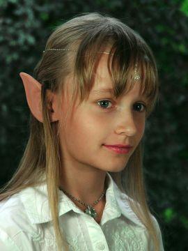 Oreilles d'elfe longues pour enfant