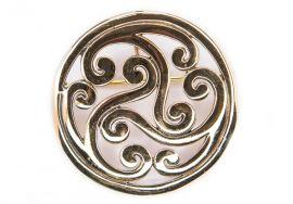 Grande fibule celtique Triskele