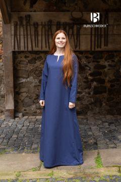Sous-robe en coton bleue marine