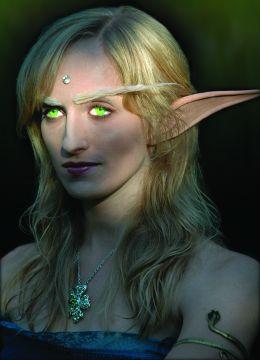 Oreilles d'elfe et sourcils