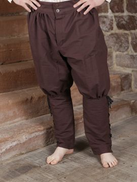 Pantalon Viking en brun foncé