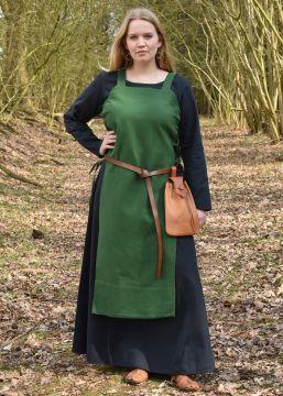 Robe tablier Tinna, en vert