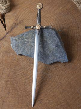 Epée miniature maçonnique.