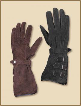 Paire de gants en daim
