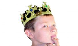 Couronne royale dorée