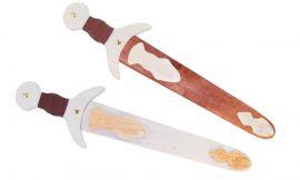 Dague en bois pour enfant 45 cm