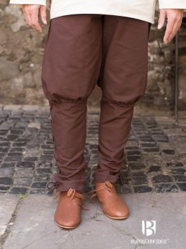Pantalon bouffant Wigbold en marron XL
