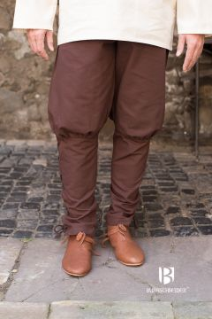 Pantalon bouffant Wigbold en marron