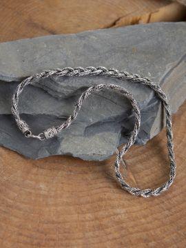 Collier Viking tressé 50 cm