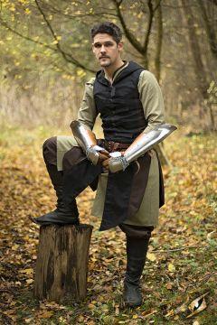 Manteau Altair marron-noir