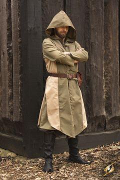 Manteau Altair beige-vert olive