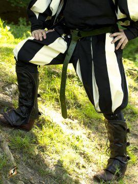 Pantalon Lansquenet noir/écru