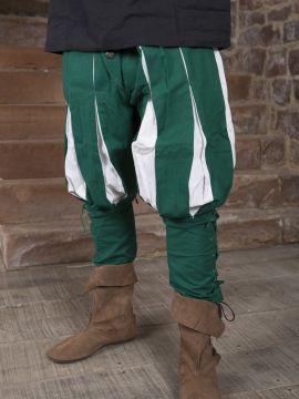Pantalon Lansquenet vert/écru