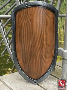 Bouclier Normand pour GN, effet bois