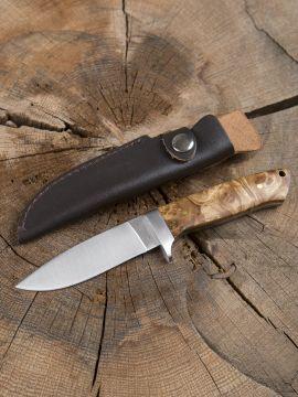 Couteau de chasse, manche bois de ronce