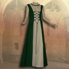 Ensemble médiéval Isabella en vert