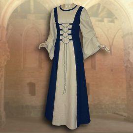 Ensemble médiéval Isabella en bleu