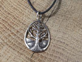 L'arbre de vie celtique en argent