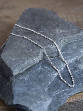 Fine chaîne en argent 50 cm