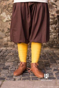 Pantalon bouffant kévian en marron