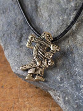 Amulette Guerrier Viking de Klahammar