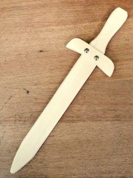 Petite épée en bois