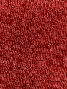 Tissu lin vendu au mètre rouge