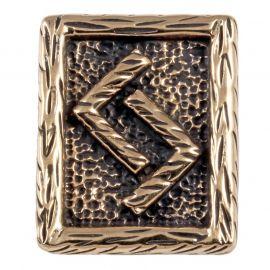 Rune JERA en Bronze
