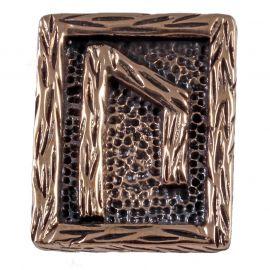 Rune URUZ en Bronze