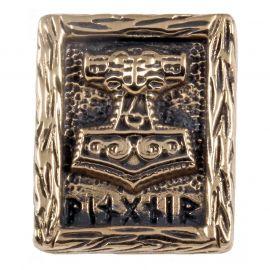 Rune MARTEAU DE THOR en Bronze