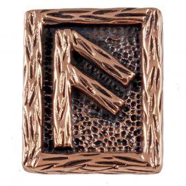 Rune ANSUZ en Bronze