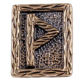 Rune WUNJO en Bronze