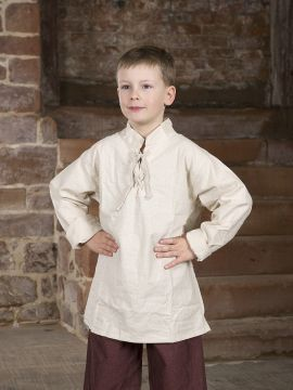 Chemise médiévale pour enfant