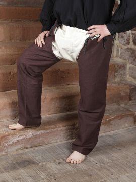 Pantalon médiéval braie et chausses
