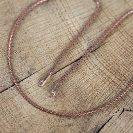 Chaîne en bronze à maille python 2,8 mm