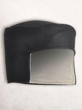 Bonnet médiéval en laine noire 58