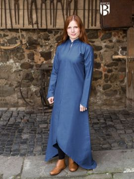 Longue robe Ranwen, bleue