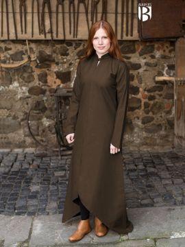Longue robe Ranwen, marron