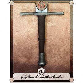Réplique d'une épée à 1 main et demie, Type VIII