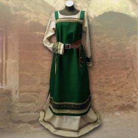 Robe viking Runhild - vert forêt