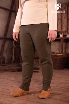 Pantalon Norvégien Sarina, vert olive