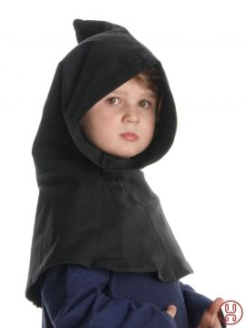 Capuchon pour enfant Liadarz , noir