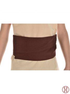"Large ceinture ""Wiglaf""  en marron"