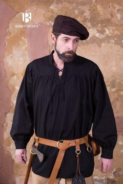 Chemise médiévale en coton robuste